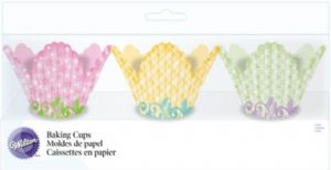 72 Assorted Petal Baking Cups